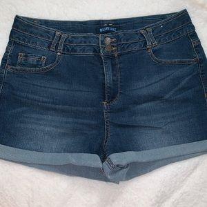 Blue Spice Denim Jean Short